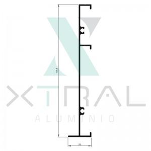 XTL-503 - (AXG-3158) - PESO LINEAR: 1,014kg/m