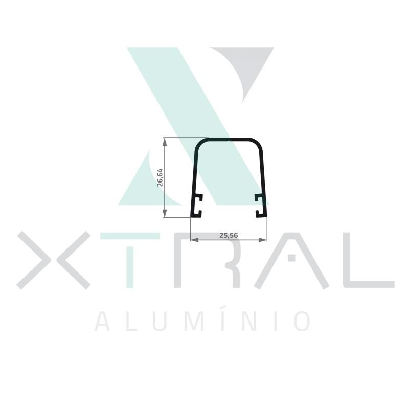 XTL-962 - (XS-107) - PESO LINEAR: 0,272kg/m
