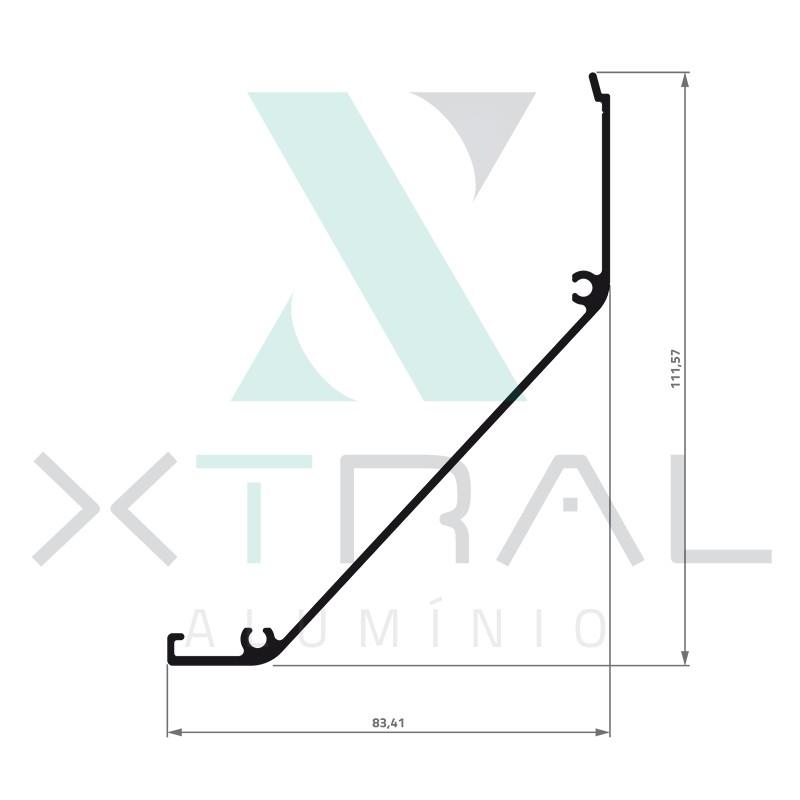 XTL-964 - (MN-005) - PESO LINEAR: 0,784kg/m