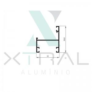 XTL-971 - (XG-068) - PESO LINEAR: 0,369kg/m